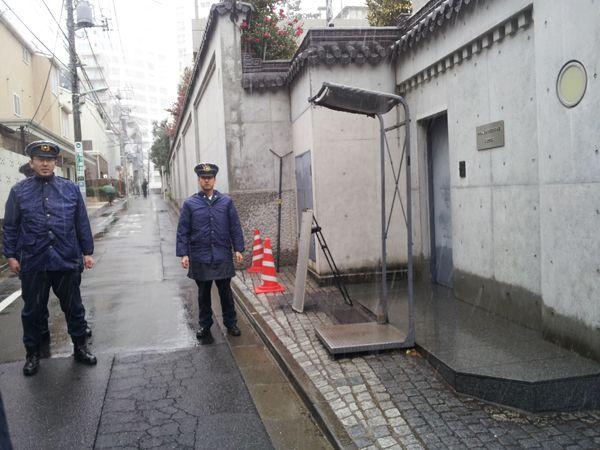 平成25年2月6日中国軍艦レーダー照射問題抗議行動
