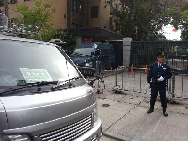 平成25年4月17日尖閣問題抗議・海上保安庁激励