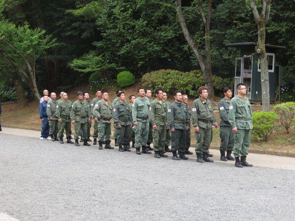 平成26年4月29日昭和の日、武蔵野御陵墓参