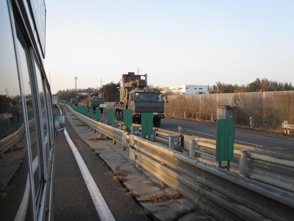 平成23年3月12日東日本大震災緊急支援物資輸送活動