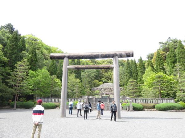平成31年4月29日昭和の日、武蔵野御陵墓参