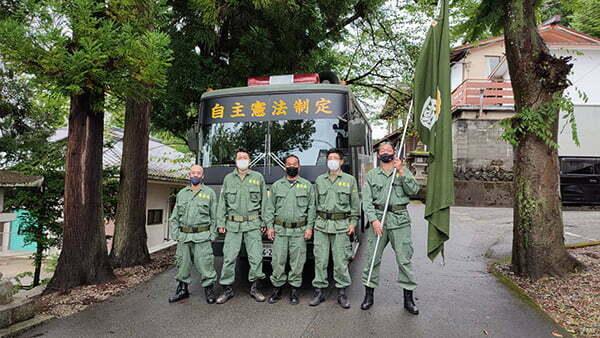 令和3年8月15日終戦の日、國志天誅塾高山市内啓蒙活動